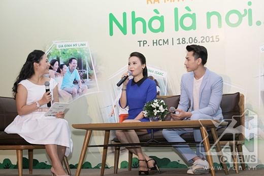 Hai chị em hớn hở kể lại những kỷ niệm vui khi thực hiện sản phẩm lần này - Tin sao Viet - Tin tuc sao Viet - Scandal sao Viet - Tin tuc cua Sao - Tin cua Sao