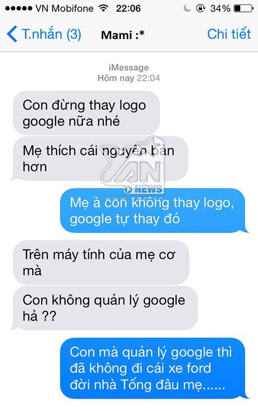 Hẳn là mẹ đã nhầm tưởng con mình là ông chủ Google!!!