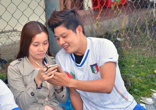 Hoàng Yến Chibi ân cần dỗ dành Bảo Kun - Tin sao Viet - Tin tuc sao Viet - Scandal sao Viet - Tin tuc cua Sao - Tin cua Sao