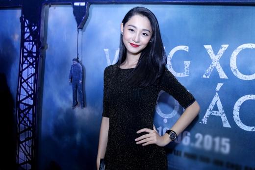 Người mẫu của cuộc thi Vietnam Next Top Model Trà My cũng có mặt tại buổi ra mắt phim. - Tin sao Viet - Tin tuc sao Viet - Scandal sao Viet - Tin tuc cua Sao - Tin cua Sao