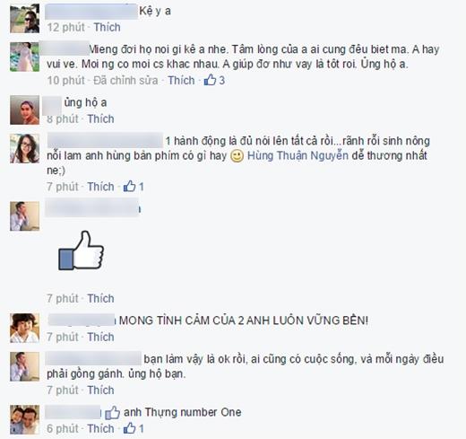 Những bình luận hiểu và thông cảm cho tin đồn thời gian gần đây của Hùng Thuận. - Tin sao Viet - Tin tuc sao Viet - Scandal sao Viet - Tin tuc cua Sao - Tin cua Sao