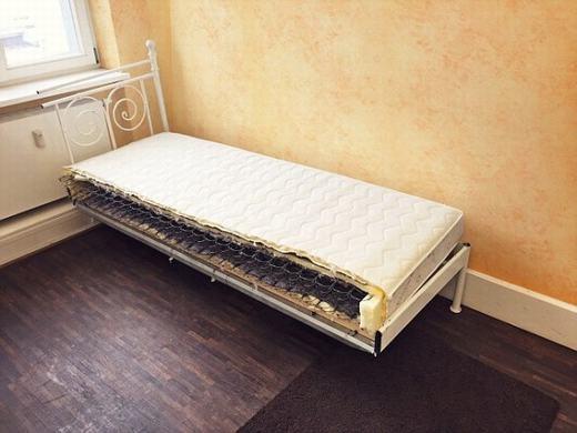 Một nửa chiếc giường