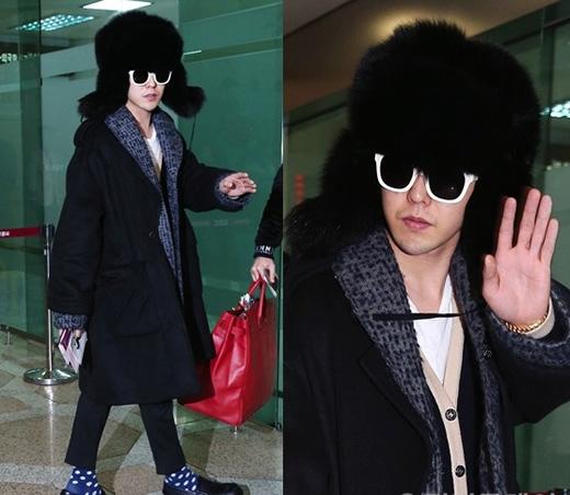 Biết rằng G-Dragon là ông hoàng thời trang của Kpop nhưng anh chàng cũng không thể tránh khỏi những thảm họa hiếm hoi này.