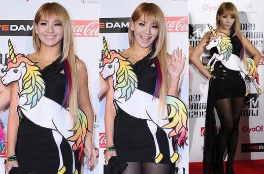 Với phong cách này, CL hoàn toàn gây ấn tượng mạnh với người khác nhưng không nhận được nhiều lời khen ngợi.