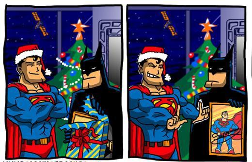 Quà giáng sinh của Batman.