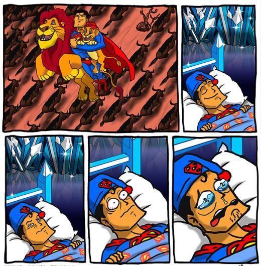 Superman lại mơ!