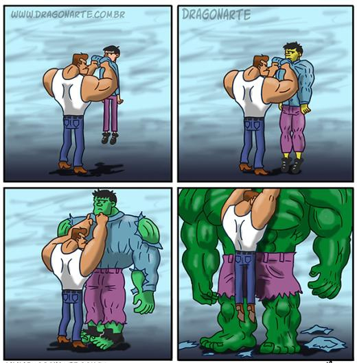 Khi Hulk gặp côn đồ