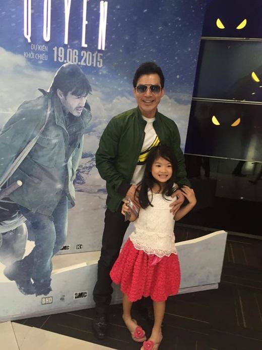 Con gái cũng có mặt trong buổi ra mắt phim Quyên của Trần Bảo Sơn. - Tin sao Viet - Tin tuc sao Viet - Scandal sao Viet - Tin tuc cua Sao - Tin cua Sao