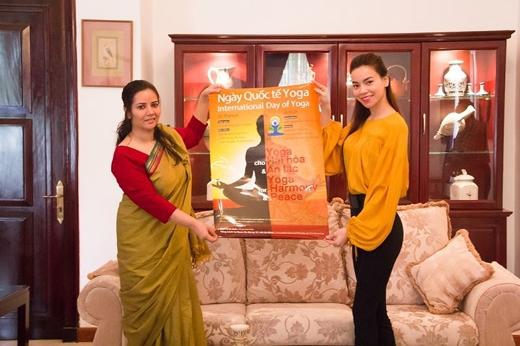 Với hình ảnh năng động, chăm rèn luyện thân thể, tập yoga và tác phong làm việc chuyên nghiệp của 1 người nghệ sĩ, nữ ca sĩ Hồ Ngọc Hà đã vinh dự được Liên Hợp Quốc chọn làm đại sứ cho chiến dịch Ngày quốc tế Yoga. Đây là chiến dịch lớn được tổ chức tại 178 quốc gia trên thế giới, do Thủ tướng Ấn Độ khởi xướng.