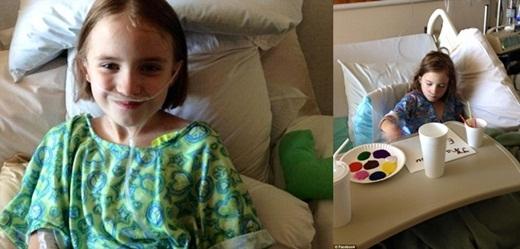 Cảm động với ảnh hưởng từ hành động đẹp của cô bé ung thư