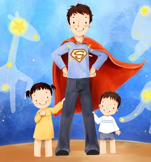 Khóc và cười với những định nghĩa độc lạ về bố