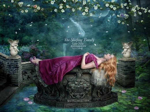 """Phát hiện """"Nàng công chúa ngủ trong rừng"""" ngoài đời thật"""