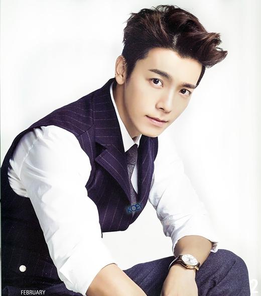 Donghae giữ vị trí thứ 5 với gương mặt rất nam tính.
