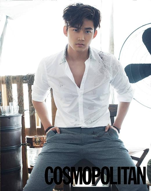 Cùng với Nichkhun, Taecyeon cũng là một trong những mỹ nam Hàn chiếm trọn tình cảm của khán giả Nhật với vẻ ngoài cực kỳ nam tính và lịch lãm.