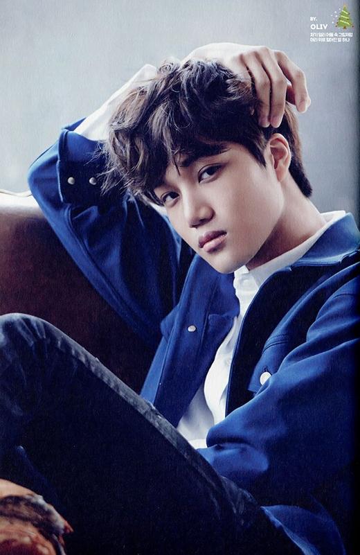 Xếp vị trí thứ 10 là Kai (EXO). Anh chàng không chỉ thu hút với vẻ ngoài quyến rũ cùng những bước nhảy điêu luyện trên sân khấu, mà còn khiến các fan ngất ngây trước vẻ đáng yêu ngoài đời. Mới đây, các thành viên EXO đều bình chọn Kai là thành viên có nhiều fan chị gái nhất.