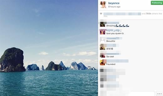 Những hình ảnh được cô đăng lên mạng xã hội