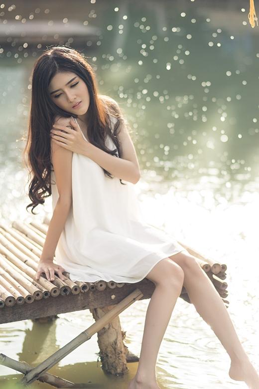 Lilly Luta gợi cảm với mốt váy ngủ