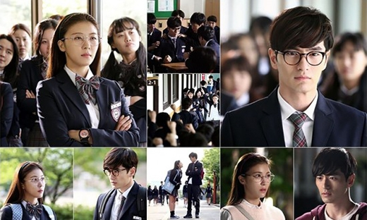 Loạt ảnh của Ha Ji Won và Lee Jin Wook trong phim.