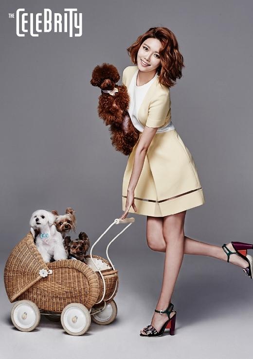 Cô nàng yêu động vật Sooyoung