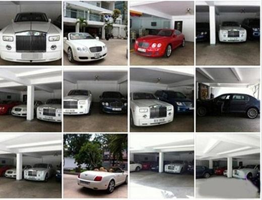 Bộ sưu tập xe đáng nể của Phan Thành.