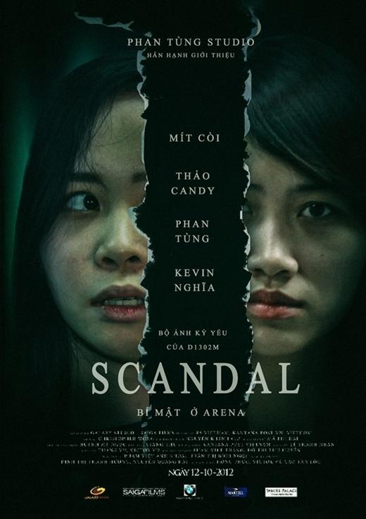 """Tấm ảnh trong bộ phim """"Scandal"""" được hai bạn nữ biểu cảm cực tốt, khiến cho nhiều người không khỏi giật mình."""