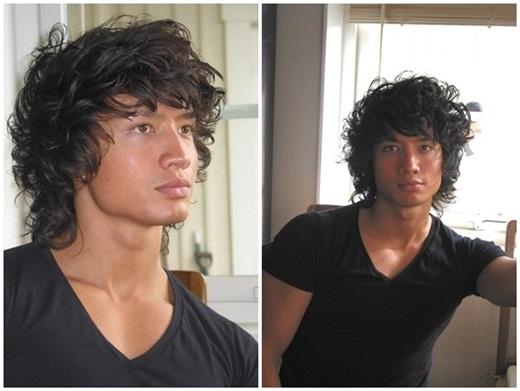 Kim Lý với mái tóc xoăn ấn tượng - Tin sao Viet - Tin tuc sao Viet - Scandal sao Viet - Tin tuc cua Sao - Tin cua Sao