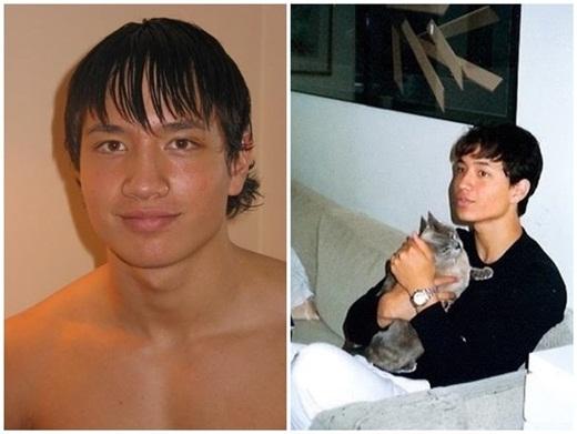 Hình ảnh mập mạp của Kim Lý ở giai đoạn anh mất kiểm soát về cân nặng (trái). Sau đó, anh nhanh chóng giảm cân để giữ thân hình cân đối. - Tin sao Viet - Tin tuc sao Viet - Scandal sao Viet - Tin tuc cua Sao - Tin cua Sao