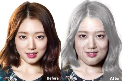 Park Shin Hye vốn được biết đến là người dễ tăng cân chắc chắn sẽ không nề hà gì việc mũm mĩm khi về già đâu nhỉ?