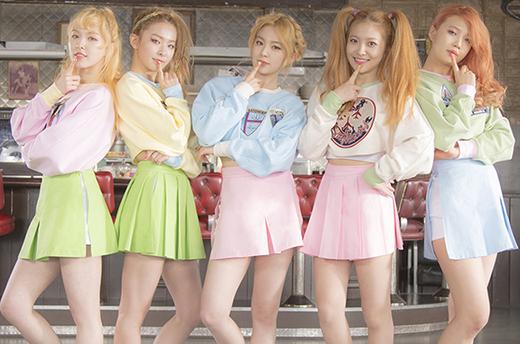 Xếp thứ 5 là Red Velvet.