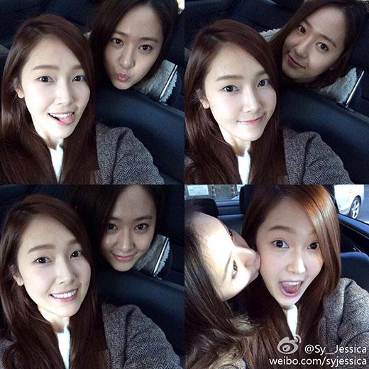 Các fan dành rất nhiều tình cảm cho hai chị em Jessica và Krystal.