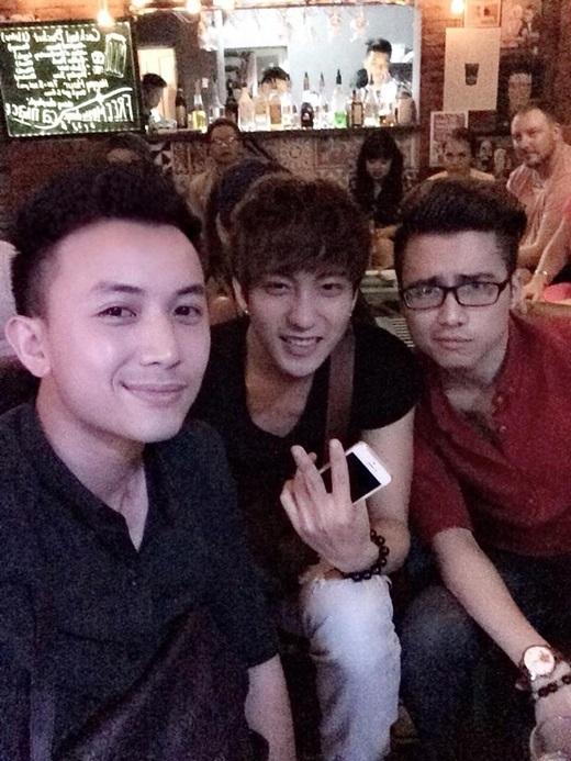 Tình bạn khắng khít đáng ghen tị của bộ ba trai đẹp 5S Online - Tin sao Viet - Tin tuc sao Viet - Scandal sao Viet - Tin tuc cua Sao - Tin cua Sao