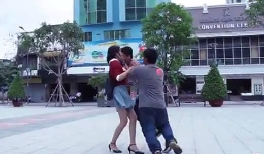 Kiss Cam phiên bản Việt- Trào lưu đã thành... trò lố?