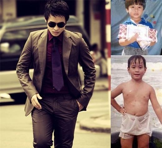 Ngày bé, Hà Anh Tuấn là một cậu bé khá mũm mĩm. Anh từng chia sẻ đã có thời anh nặng đến hơn - Tin sao Viet - Tin tuc sao Viet - Scandal sao Viet - Tin tuc cua Sao - Tin cua Sao