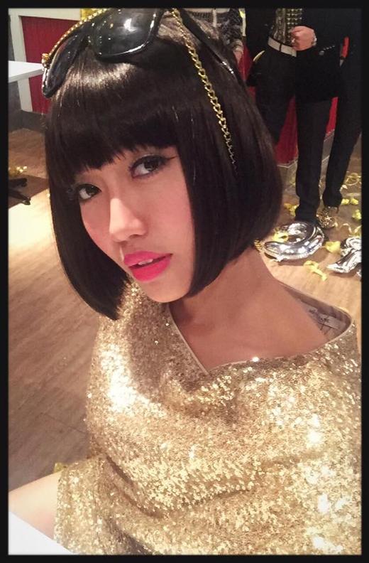 Cô nàng Diệu Nhi đã đăng tải hình ảnh này trên trang cá nhân của mình để chứng minh với mọi người là bản thân cô cũng có chút nhan sắc.