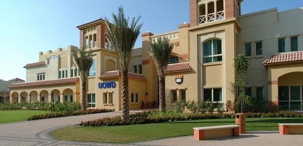 Đại học Wollongong với nét kiến trúc Trung Đông đặc trưng.