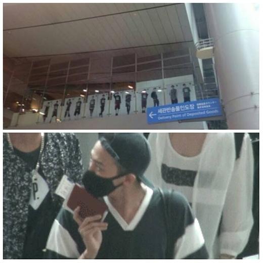 Hình ảnh G-Dragon đếm số thành viên của EXO gây sốt