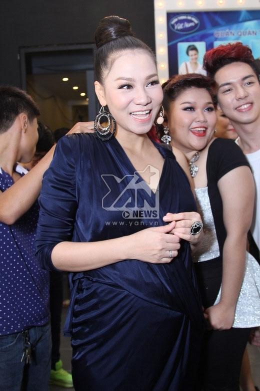 Thu Minh chính thức tái xuất và trở lại vị trí ghế nóng của chương trình Vietnam Idol 2015. - Tin sao Viet - Tin tuc sao Viet - Scandal sao Viet - Tin tuc cua Sao - Tin cua Sao