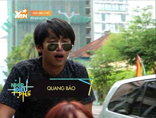 Trong tập 3 sắp phát sóng vào 20g00 tối thứ 6 ngày 26.06.2015, Quang Bảo hy sinh bản thân, bất chấp mệt mỏi chở Kim Nhã bằng xích lô