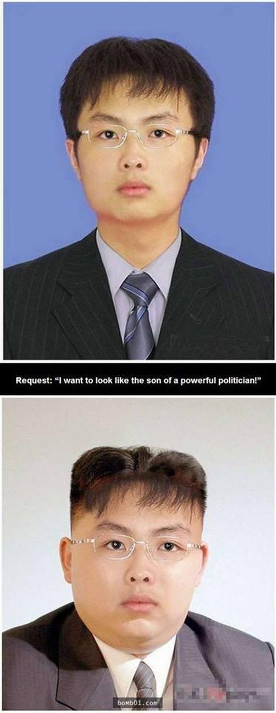 Phong cách của một chính trị gia.