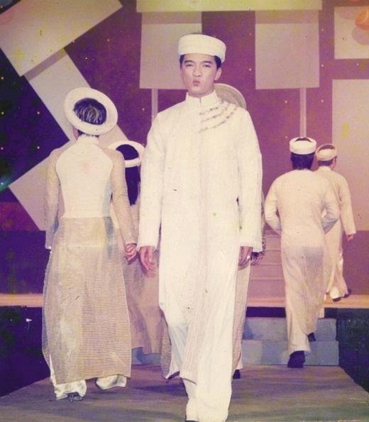 Mr. Đàm lần đầu sải bước trên sàn catwalk - Tin sao Viet - Tin tuc sao Viet - Scandal sao Viet - Tin tuc cua Sao - Tin cua Sao
