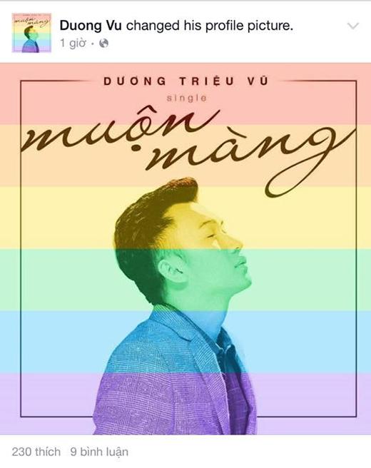 Dàn sao Việt hết lòng chung tay ủng hộ cộng đồng LGBT - Tin sao Viet - Tin tuc sao Viet - Scandal sao Viet - Tin tuc cua Sao - Tin cua Sao