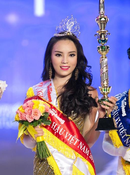 Hình ảnh Kỳ Duyên lúc mới đăng quang Hoa hậu Việt Nam 2014 - Tin sao Viet - Tin tuc sao Viet - Scandal sao Viet - Tin tuc cua Sao - Tin cua Sao