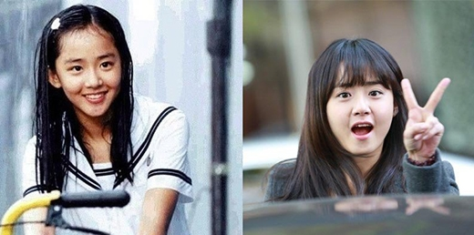 Không hề khó khăn để nhận ra Moon Geun Young đã từng lấy biết bao nhiêu nước mắt của khán giả qua vai diễn trong Trái tim mùa thu (2000). Thời gian qua đi, cô nàng vẫn giữ nét ngây thơ vốn có của mình nhưng đã trưởng thành và là một người con gái 28 tuổi đầy sức sống và nhiệt huyết với nghiệp diễn xuất.