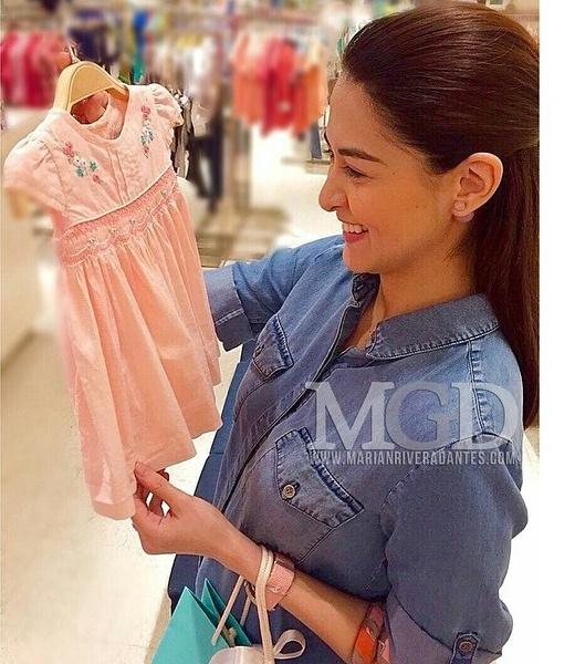 """""""Mỹ nhân đẹp nhất Philippines"""" sắp sinh con gái"""