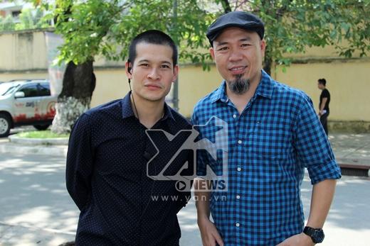 Đạo diễn Việt Tú và đạo diễn âm nhạc Huy Tuấn - Tin sao Viet - Tin tuc sao Viet - Scandal sao Viet - Tin tuc cua Sao - Tin cua Sao