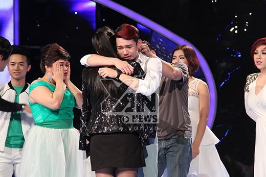 Nhiều lần rớt hụt, top 6 rơi nước mắt chia tay Nguyễn Duy