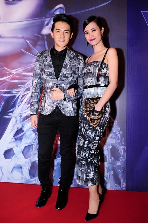 Những bộ trang phục đẹp mắt của cặp đôi Đông Nhi, Ông Cao Thắng