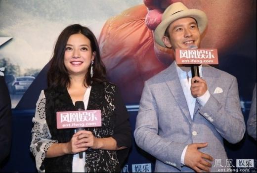 Triệu Vy cùng Huỳnh Hiểu Minh thi nhau khuấy đảo Hollywood