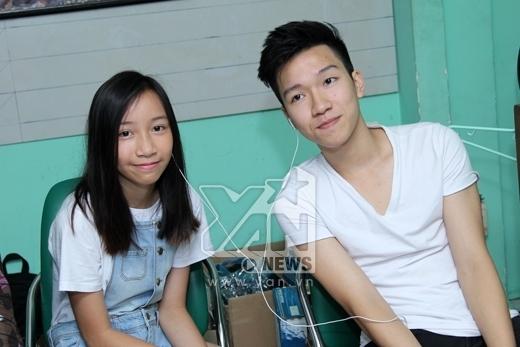Đứng ngồi không yên trước tài - sắc của hai hot boy nhà Thanh Lam và Mỹ Linh - Tin sao Viet - Tin tuc sao Viet - Scandal sao Viet - Tin tuc cua Sao - Tin cua Sao