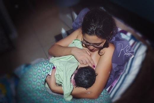 Những bà mẹ khi sinh con thực sự là những người anh hùng mạnh mẽ và giàu tình yêu thương nhất!